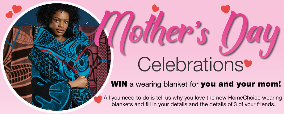 WIN a wearing blanket for you and your mom each!